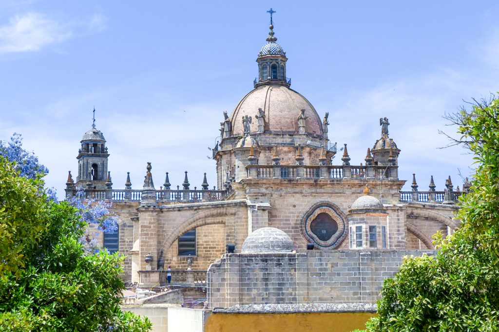 Photo of the Cathedral in Jerez de la Frontera, Spain, an exciting day trip from Seville