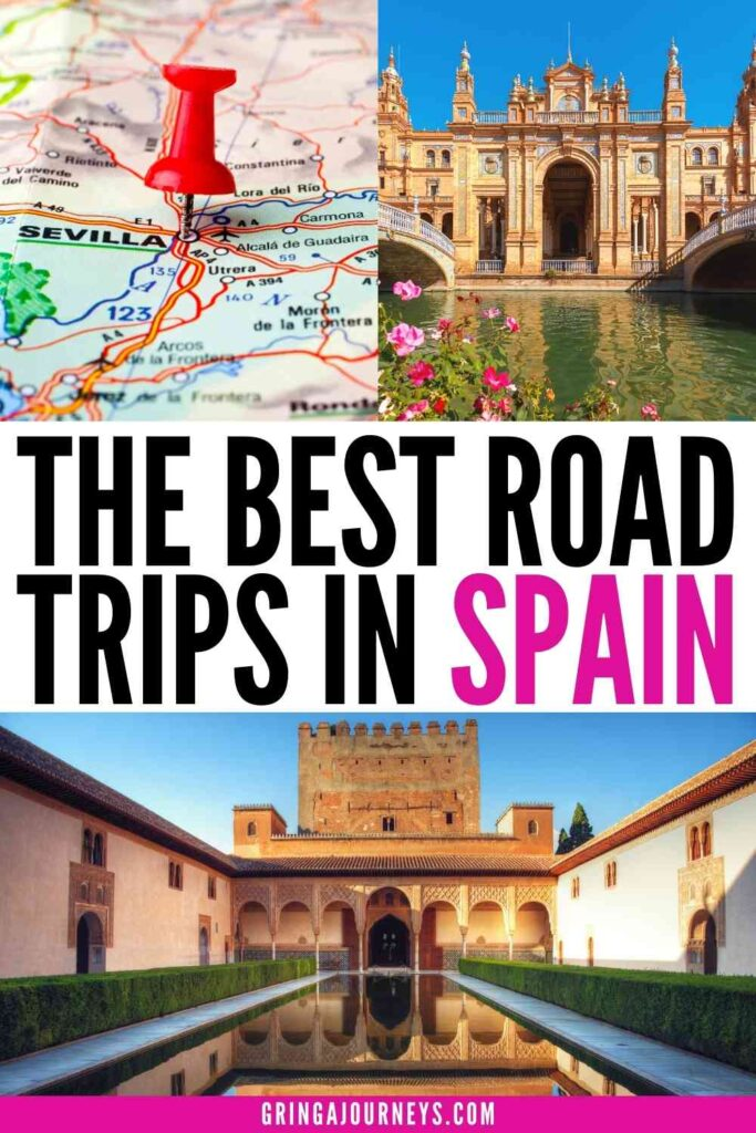 Discover the best road trips in Spain, covering regions like Andalusia, the Basque Country, Galicia, Barcelona, Valencia, Central Spain, and Madrid. This article includes full maps of each suggested route as well as itineraries for each destination along the way!